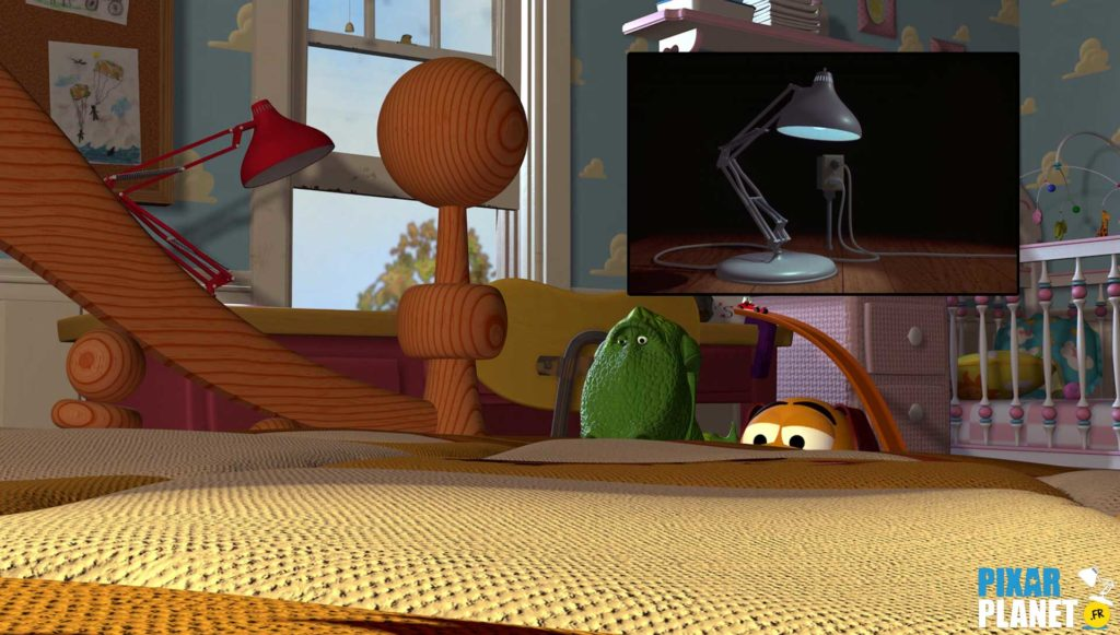 clin oeil easter egg toy story pixar disney