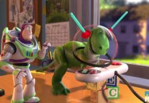 Clin oeil Easter Egg Toy Story 2 Disney Pixar