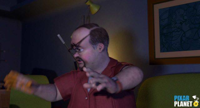 Clin oeil Easter Egg Toy Story 2 Disney Pixar