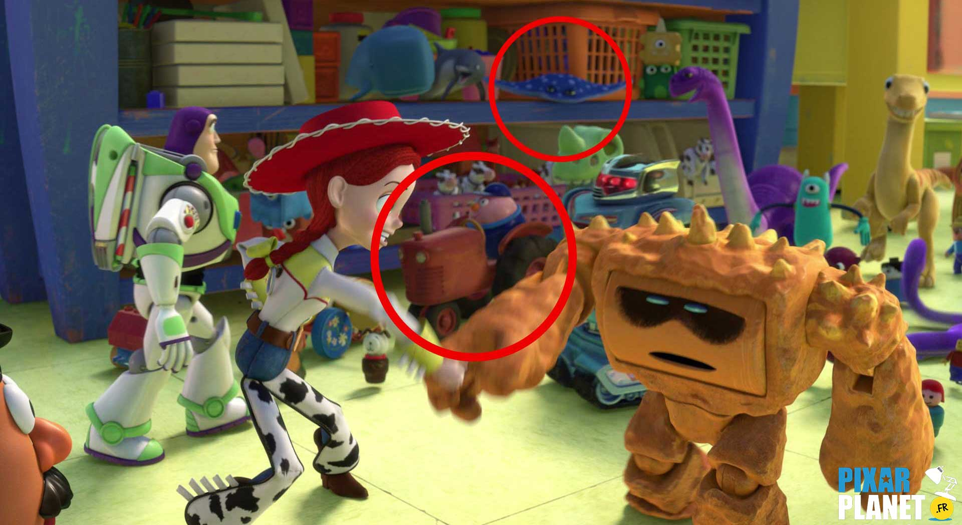 "Finding Nemo Characters Mr Ray Easter Eggs from ""To..."