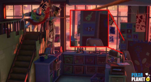 Clin oeil Easter Egg Toy Story 3 Disney Pixar