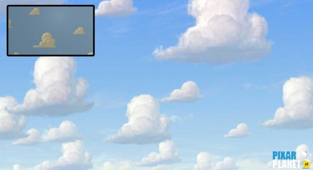 Clin oeil Easter Egg Toy Story 3 Disney Pixar