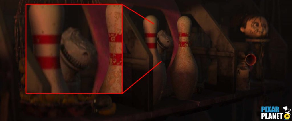 clin oeil wall-e easter egg pixar disney