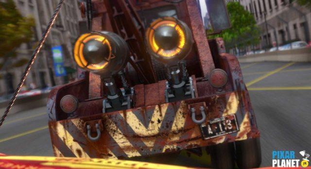 cars 3 code a113 Pixar Disney
