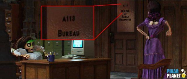 code a113 coco disney pixar