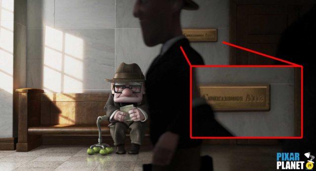 Là-haut up code a113 Pixar Disney