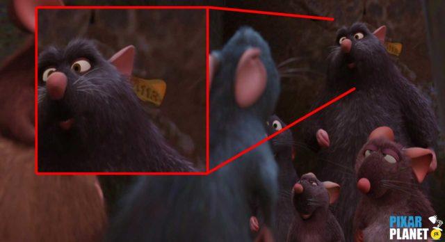 ratatouille code a113 Pixar Disney