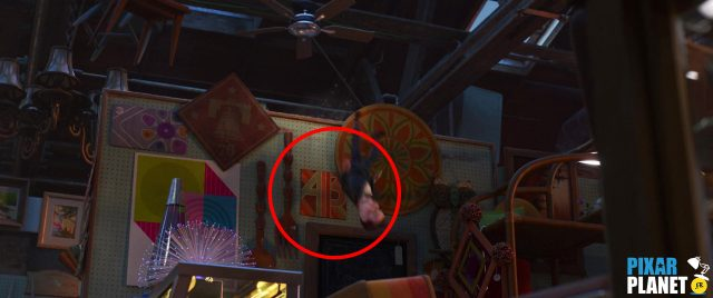 clin oeil easter egg toy story 4 code a113 disney pixar