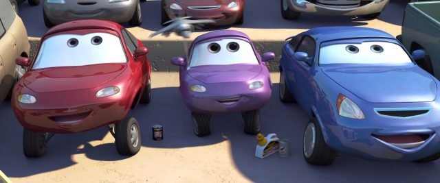 coriander widetrack  personnage character cars disney pixar