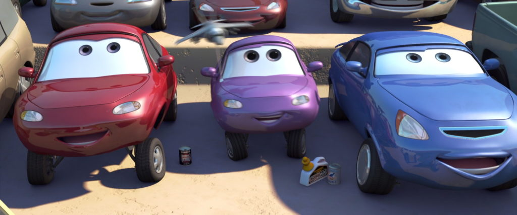 coriander widetrack personnage character pixar disney cars