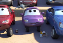 coriander widetrack personnage character pixar disney cars