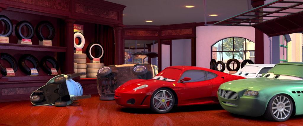 costanzo della corsa personnage character pixar disney cars
