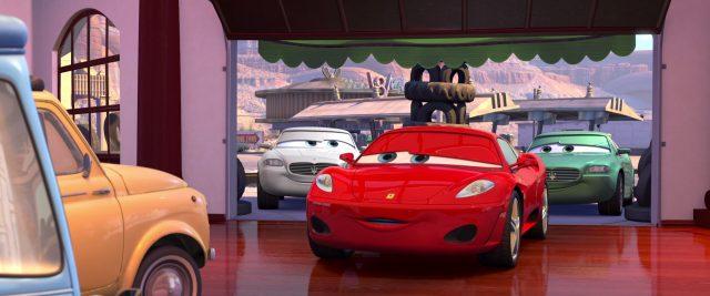 costanzo della corsa personnage character cars disney pixar