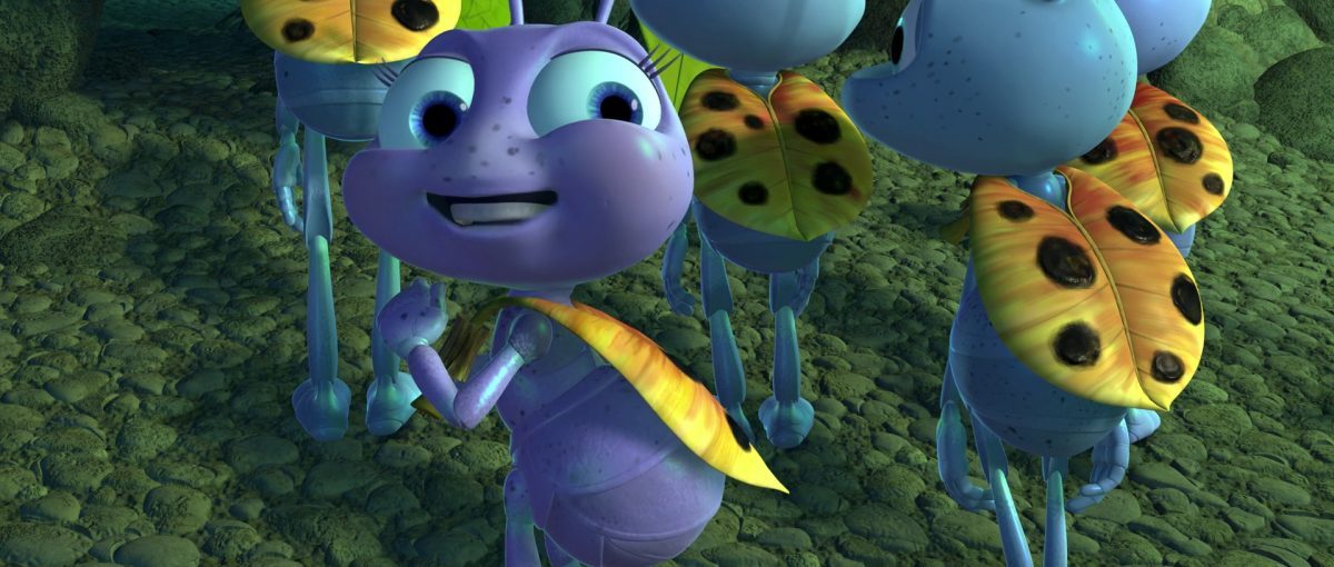 couette dot personnage character 1001 pattes bug life disney pixar