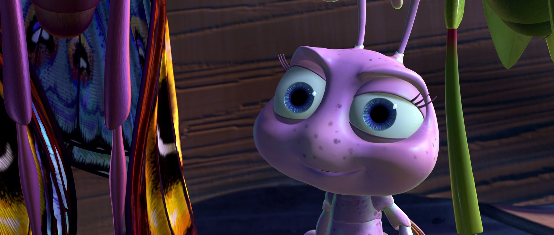 It is a photo of Divine A Bugs Life Dot