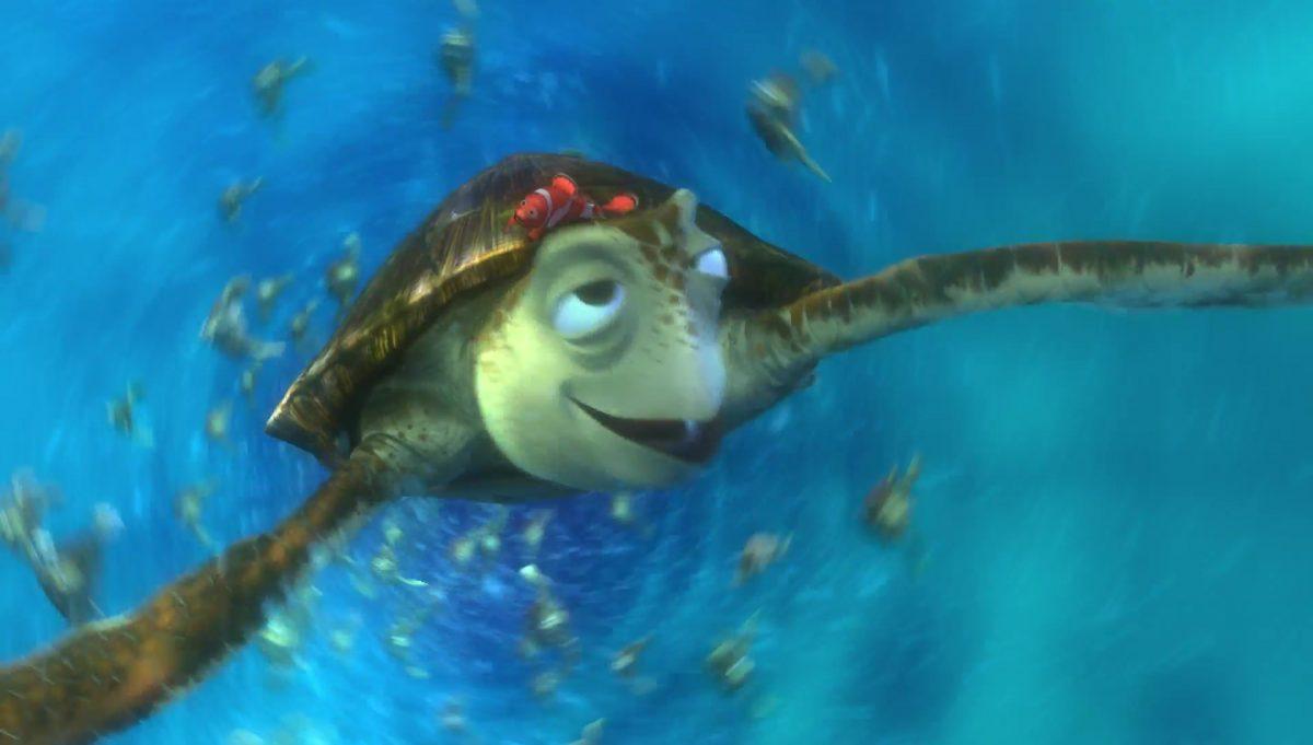 crush personnage character monde nemo finding dory disney pixar