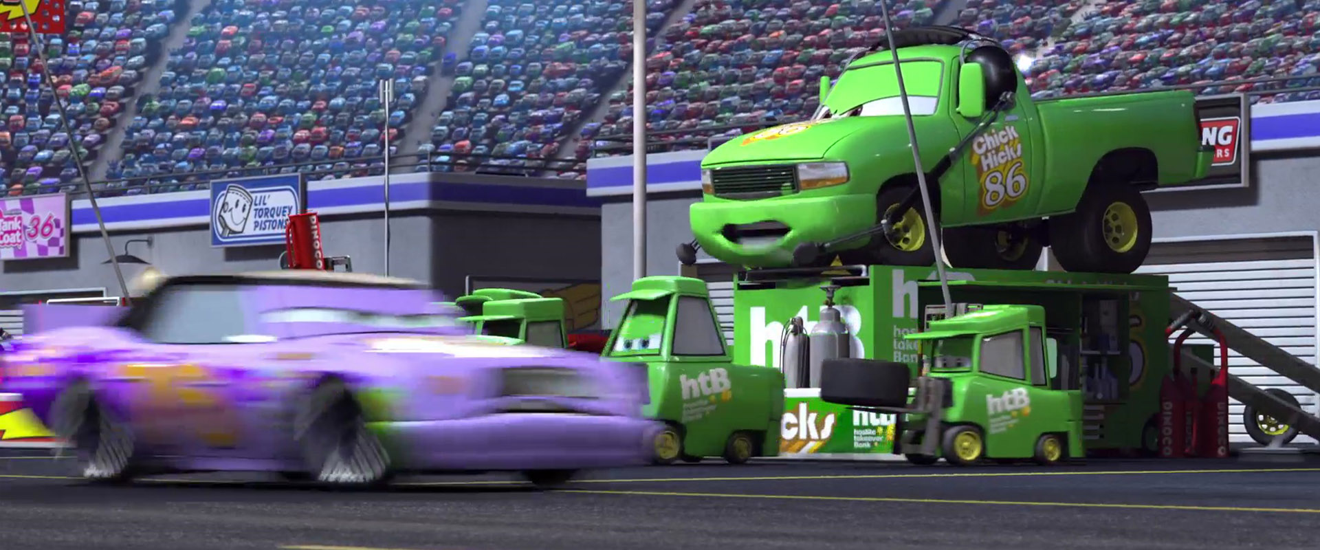 crusty rotor personnage character pixar disney cars