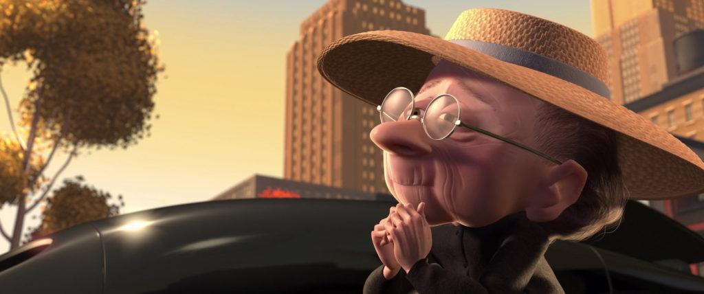 dame au chat pixar disney personnage character indestructibles incredibles