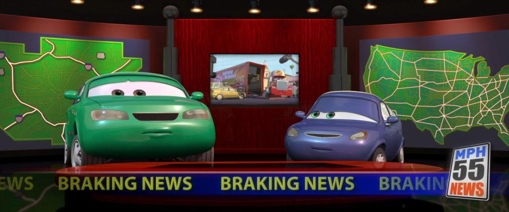 dan sclarkenberg personnage character pixar disney cars