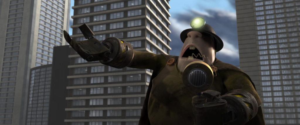 demolisseur underminer pixar disney personnage character indestructibles incredibles