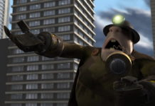 demolisseur underminer pixar disney personnage character indestructibles incredibles