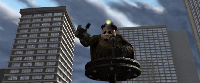 demolisseur underminer personnage character indestructibles incredibles disney pixar