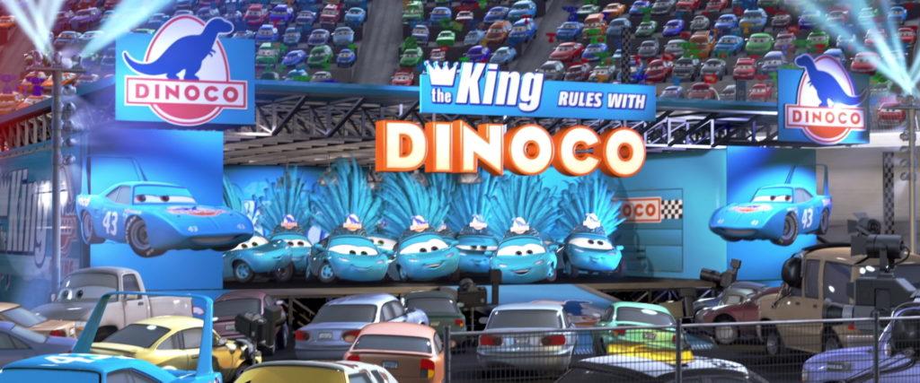 dinoco girls personnage character pixar disney cars
