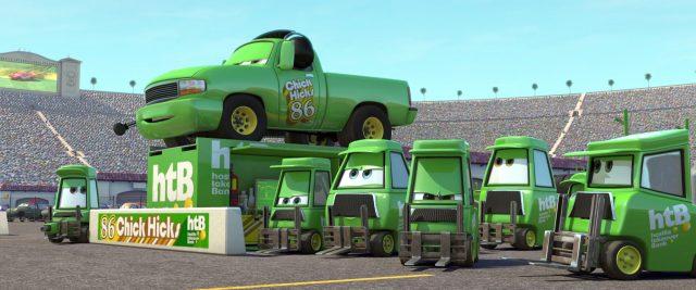 directeur technique chick personnage character cars disney pixar