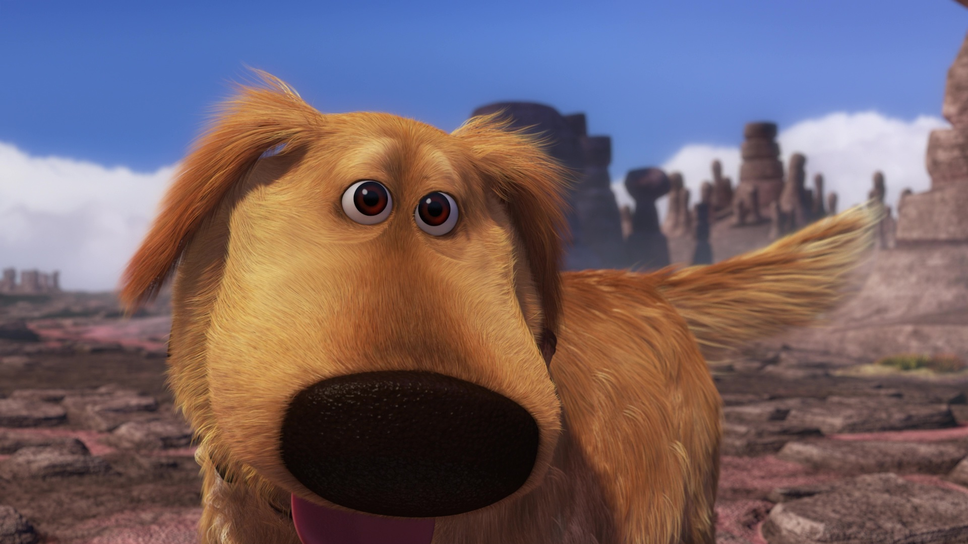 Pixar disney dug mission speciale
