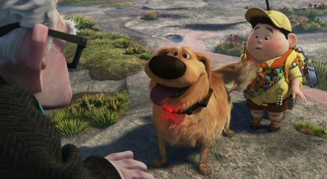 dug personnage character là-haut up disney pixar
