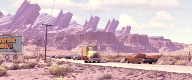 dustin mellows personnage character cars disney pixar