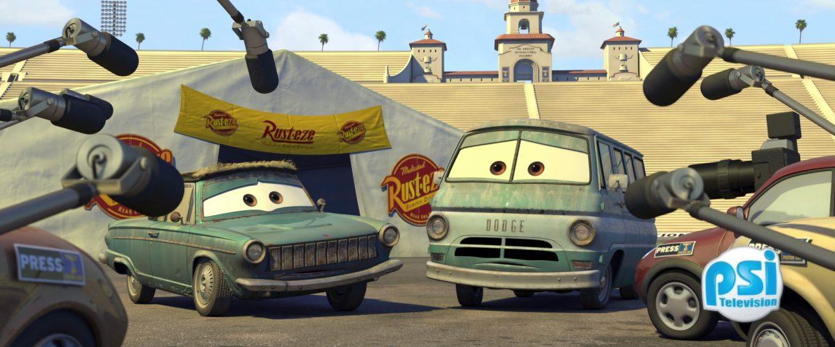 dusty rust eze personnage character cars disney pixar