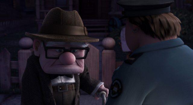 edith personnage character là-haut up disney pixar