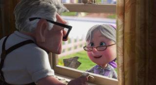 ellie fredricksen personnage character pixar disney là-haut up