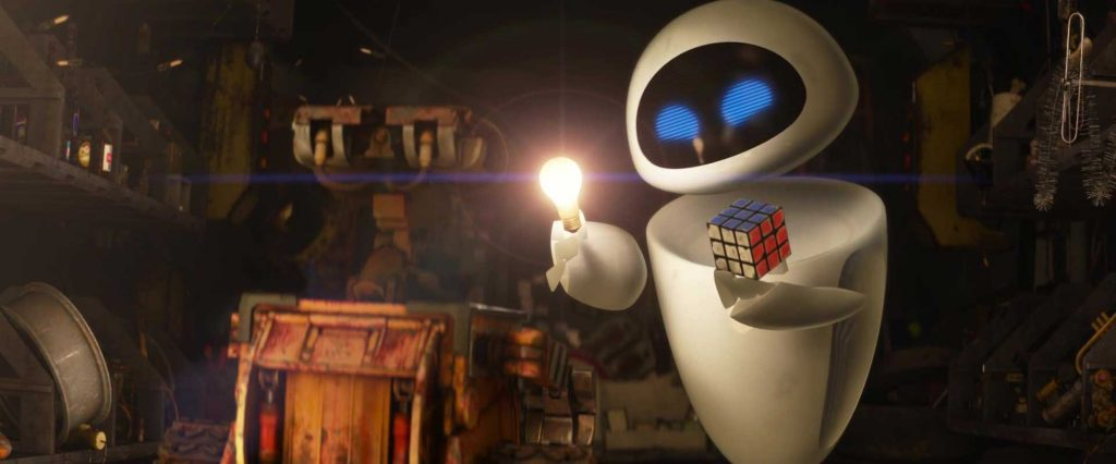 pixar disney eve personnage wall-e character