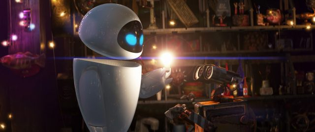 eve personnage character wall-e disney pixar