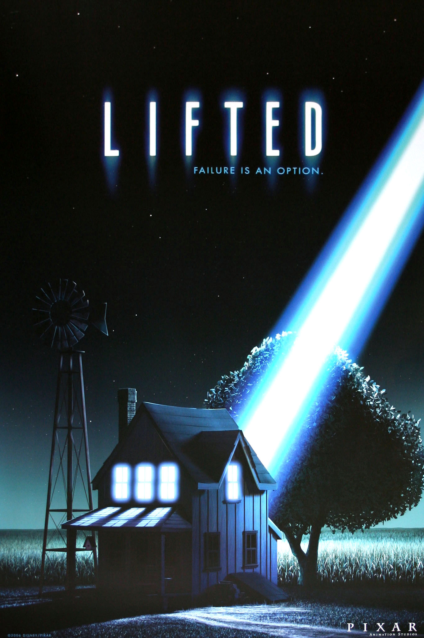 affiche poster extra terrien lifted disney pixar