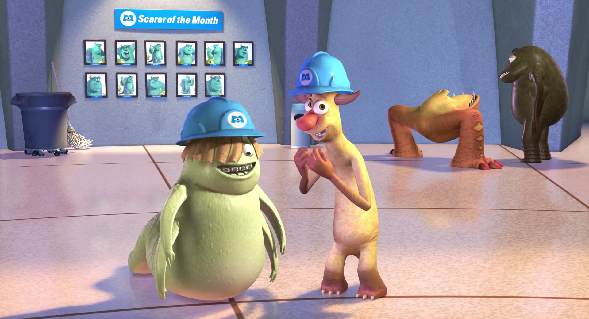 Needleman Smitty ferdinand alberique pixar disney personnage character monstres cie monsters inc