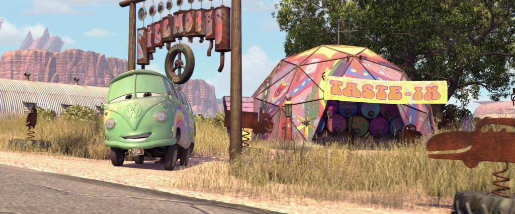 fillmore personnage character pixar disney cars