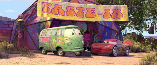 fillmore personnage character cars disney pixar