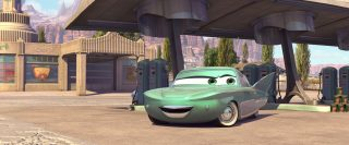 flo personnage character pixar disney cars