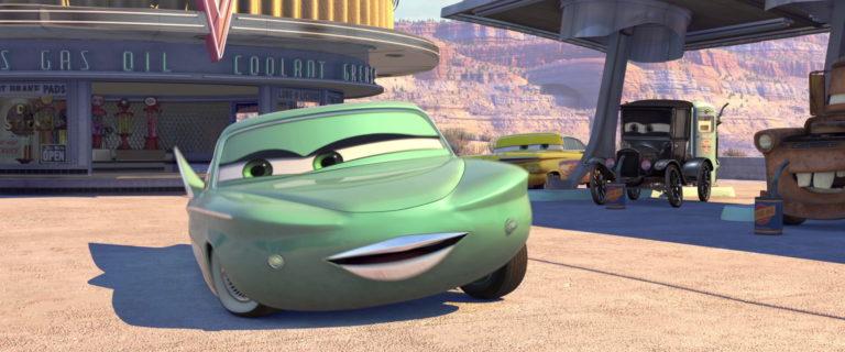 """Flo, personnage dans """"Cars""""."""