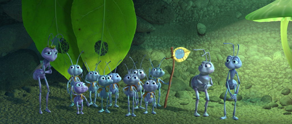 fourmi scout Blueberries pixar disney personnage character 1001 pattes a bug life