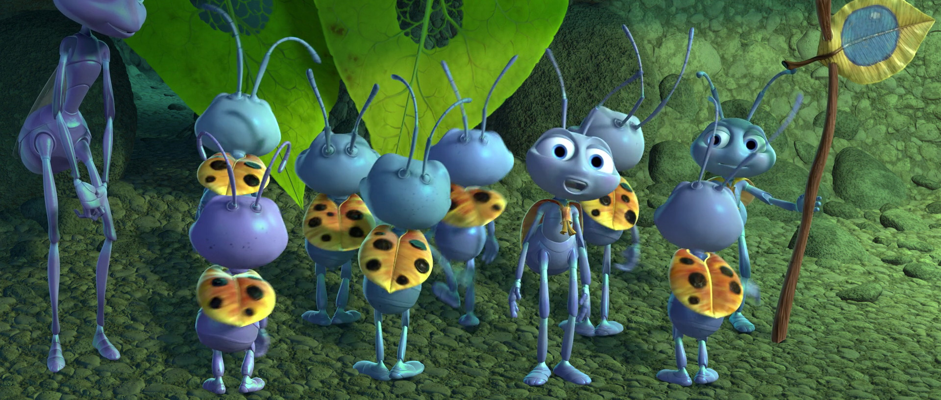 It is an image of Accomplished A Bugs Life Dot