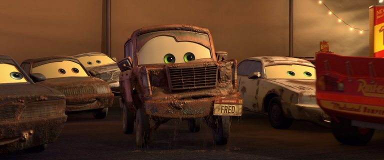 "Fred, personnage dans ""Cars""."