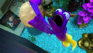 gargouille gurgle monde finding nemo disney pixar personnage character