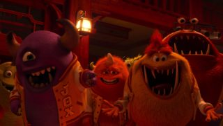 george sanderson pixar disney personnage character monstres academy monsters university