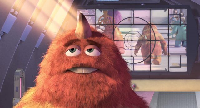 george sanderson personnage character monstres monsters inc cie disney pixar