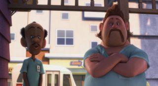 georges aj personnage character pixar disney là-haut up