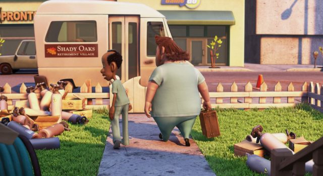 george aj personnage character là-haut up disney pixar